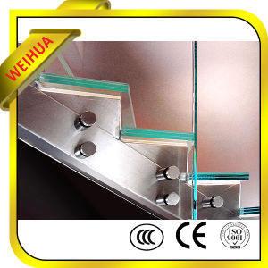 Safety 10mm Laminated Glass Stair with CE/CCC/ISO9001 pictures & photos