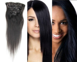 22 Inch Full Head Set 7 PCS 6A Brazilian Virgin Remy Clips in Hair Extensions