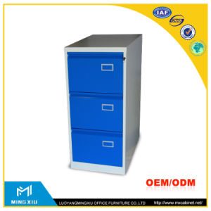 China Supplier 3 Drawer Vertical File Cabinet / 3 Drawer Metal File Cabinet pictures & photos