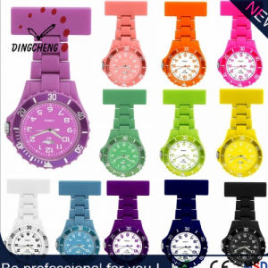 Silicone Nurse Rubber Plastic Japan Movement Quartz Watch (DC-1158) pictures & photos