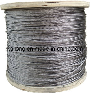 7X19-3.0mm Stainless Steel Wire Rope pictures & photos