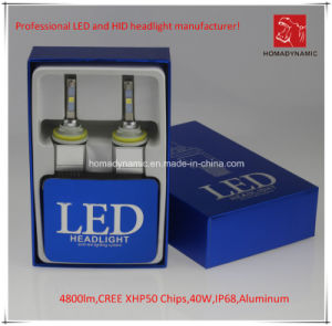 LED Car Light H11 CREE Xhp50 Chip LED Headlight 4800lm pictures & photos