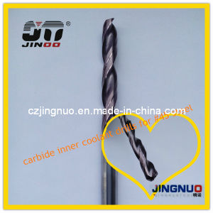 Jinoo Altin-S Gold Coating High Speed Twist Carbide Drill Bit Sizes pictures & photos