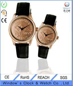 Fashion Coin Steel Watch