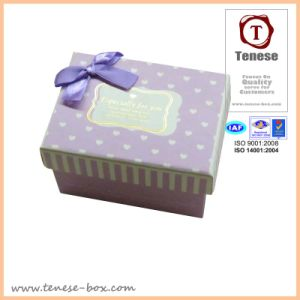 Cardboard Packaging Box /Delicate Gift Box with Ribbon pictures & photos