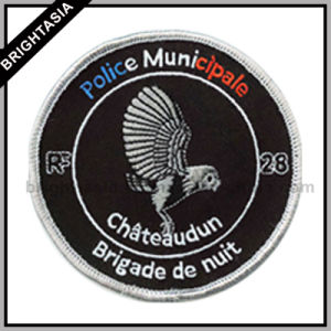 Police Municipale Embroidery Patch for Uniform Accessory (BYH-11074) pictures & photos