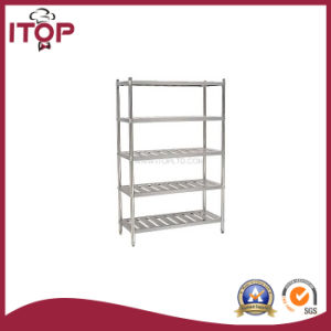 Stainless Steel AISI201 5 Tiers Storage Rack (SR-R03) pictures & photos