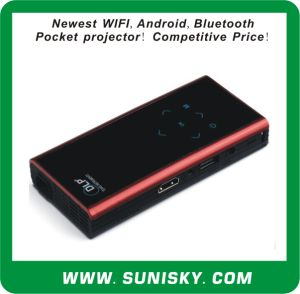 WiFi + Android OS + Bluetooth Mini Home Theater Projector pictures & photos