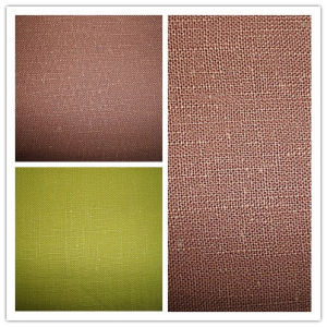 Dyed Ramie Slub Cloth Fashion Fabric pictures & photos