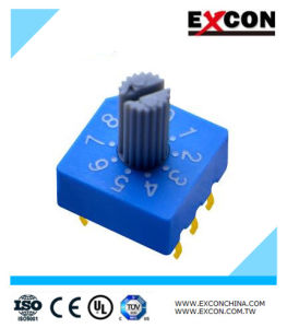 High Quality DIP Dial Switch/ Dial Rotary Switch pictures & photos