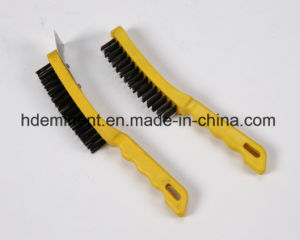 Plastic Handle Steel Wire Brushes pictures & photos