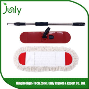 Wholesale Hospital Rotary Flat Wet Floor Cotton Mop pictures & photos