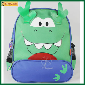 Cute Child Cartoon Green Dragon Backapck Rusksack (TP-BP177) pictures & photos