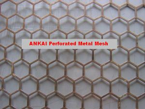 Diamond Hole Perforated Metal Mesh pictures & photos