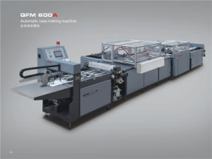Book Cover Machine Qfm-600A pictures & photos