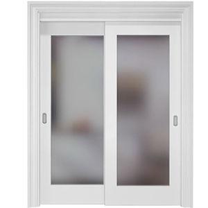 China Contemporary White Interior Sliding Glass Door China Doors