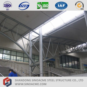 Steel Pipe Truss Shed for Train Maintenance pictures & photos