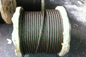 Ungalvanized and Galvanized Steel Wire Rope (6*7+FC) pictures & photos
