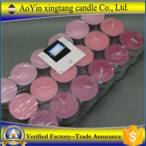 Wholesale High Quality Mini Colorful Tealight Candle for Wedding Decoration pictures & photos