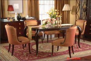 Dining Sets/Restaurant Furniture/Restaurant Chair and Table (GLD-002) pictures & photos