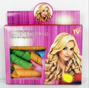 Hot Selling Magic Leverage Hair Curler Rope Hair Care Product Hair Salon Equipment 18PCS/Box pictures & photos