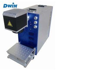 10W 110X110X80mm Fiber Laser Marking Machine pictures & photos