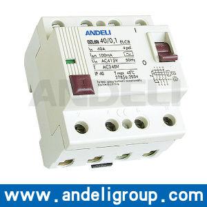 10mA RCCB Circuit Breaker (DZL6N) pictures & photos