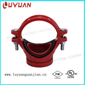 """UL Listed, FM Approved, Mechanical Tee 4""""X1-1/2′′ Grooved pictures & photos"""
