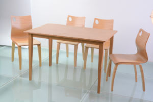 Restaurant Furniture Wood Table and Chair for Dining (FOH-NCP17) pictures & photos
