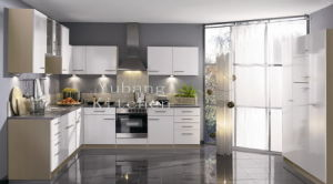 Baked Paint Kitchen Cabinet (free kitchen design) pictures & photos