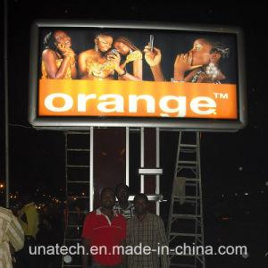 Aluminum Mega Billboard Outdoor Advertising LED Pole Light Box pictures & photos