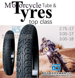 Motorcycle Tire Tyre Motocicleta Scooter Tire Inner Tube ATV Tyre 110/90-16 pictures & photos