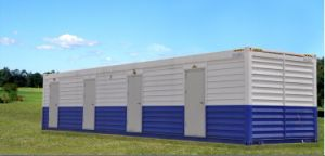 Strong Modular Shipping Container for Miners′ Dormitory House pictures & photos