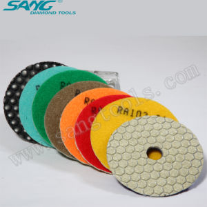 High Quality 3~7 Inch Diamond Polishing Pads (SA-056) pictures & photos