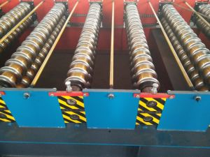 High Speed Aluminium Corrugated Sheet Roll Forming Machine pictures & photos