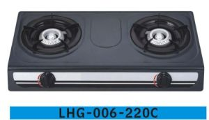 Cheaper Model Double Burner Epoxy Gas Stove