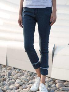2017 Custom Design Apparel Fashion Women′s Denim Jeans pictures & photos