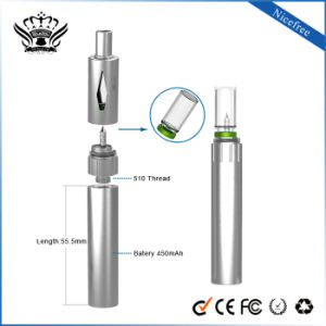 Ibuddy 450mAh Glass Piercing-Style Electronic Cigarette EGO Kit Hemp Vape Vaporizer pictures & photos
