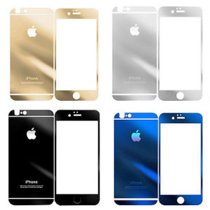 Full Color Front And Back Tempered Class Screen Protector For IPhone 6 Plus