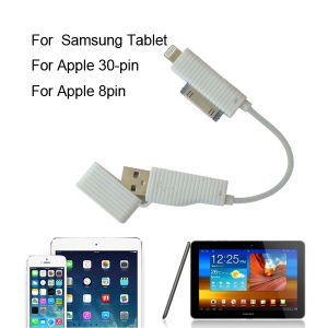 3 in 1 USB Cable for iPhone 5/ 5s pictures & photos