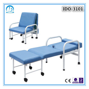 Steel Accompany Hospital Bed Chair pictures & photos