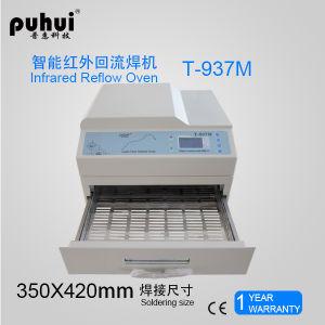 LED SMT Desktop Leadfree Reflow Oven T937, Puhui T937m pictures & photos