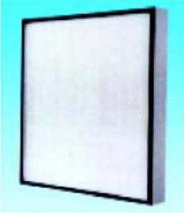 Close-Pleated Air Filter for Cleanroom (WUGE)