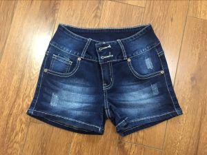 Femme Slim Shorts Jeans pictures & photos