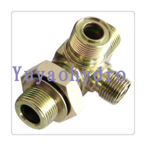 Hydraulic Fittings Elbow Orfs /Adjustable End SAE-Orb pictures & photos