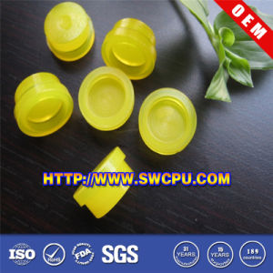 Custom-Made Square Round Plastic Cap Fastener (SWCPU-P-F790) pictures & photos