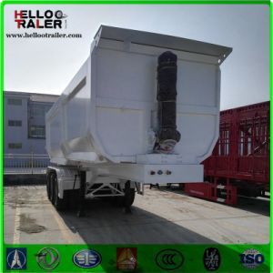 Tri Axle 60 Ton Tipping Hydraulic Tipper Trailer pictures & photos
