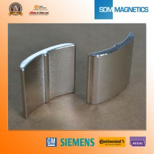 Customized Permanent Arc Neodymium Magnet pictures & photos