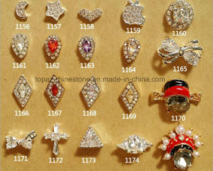 2016 Rhinestone Diamond Cross Heart Star Nail Art 3D Nail Art Design Accessories Nail (TP-1156-1174) pictures & photos