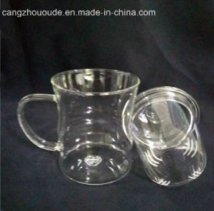 Personal Glass Cup Glass Tea Cup with Drinking pictures & photos